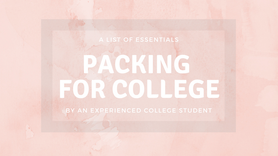 Best Packing List For College!